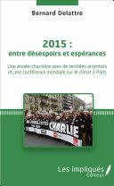 Pdf 2015 : entre désespoirs et espérances Telecharger