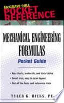 Mechanical Engineering Formulas Pocket Guide