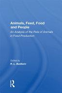Animals, Feed, Food And People Pdf/ePub eBook