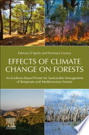 Effects of Climate Change on Forests Book