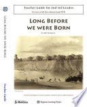 Long Before We Were Born Book PDF
