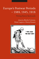 Pdf Europe's Postwar Periods - 1989, 1945, 1918 Telecharger