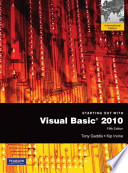 Starting Out with Visual Basic 2010