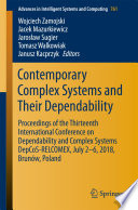 Contemporary Complex Systems and Their Dependability