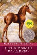 Pdf Justin Morgan Had a Horse