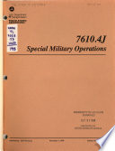 Special Military Operations