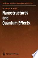 Nanostructures and Quantum Effects Book