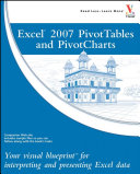 Excel 2007 PivotTables and PivotCharts