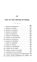 Book of the Princes of Wales, Heirs to the Crown of England