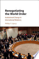 Renegotiating the World Order Book