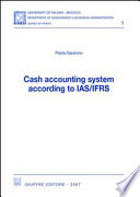 Cash accounting system according to IAS/IFRS