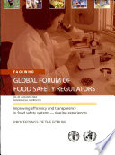 Improving Efficiency and Transparency in Food Safety Systems - Sharing Experiences