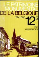 Le patrimoine monumental de la Belgique