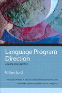 Language Program Direction