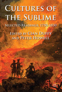 Cultures of the Sublime