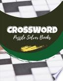 Crossword Puzzle Solver Books