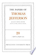 The Papers of Thomas Jefferson  Volume 20