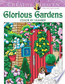 Creative Haven Glorious Gardens Color by Number