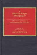 A Richard Wright Bibliography