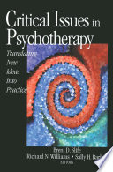 Critical Issues in Psychotherapy