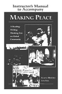 Making Peace Instructor s Manual