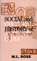 Social and Cultural History of Ancient India