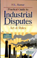 Practical Guide To Industrial Disputes