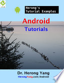 Android Tutorials Herong S Tutorial Examples