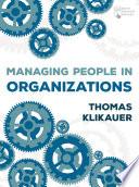 Managing People in Organizations Book