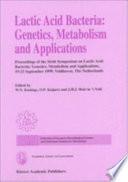 Lactic Acid Bacteria Genetics Metabolism And Applications Book PDF