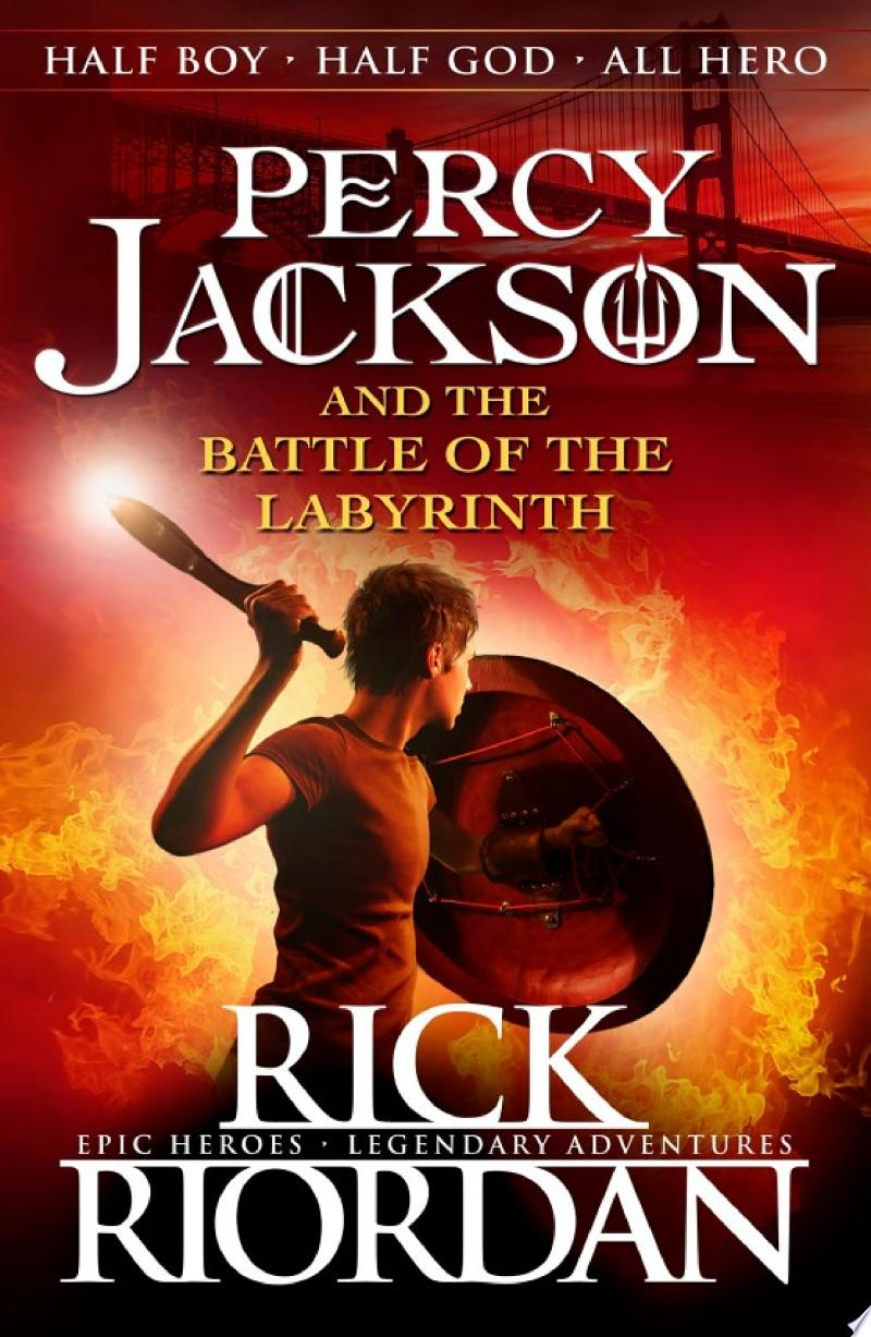 Percy Jackson and the Battle of the Labyrinth (Book 4) banner backdrop