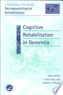 Cognitive Rehabilitation in Dementia Book