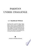 Pakistan Under Challenge