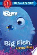 Big Fish  Little Fish  Disney Pixar Finding Dory