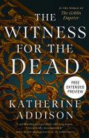 Pdf The Witness for the Dead Sneak Peek
