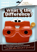 Mental Floss: What's the Difference? Pdf/ePub eBook