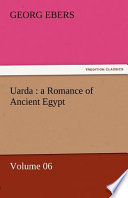 Uarda : a Romance of Ancient Egypt -