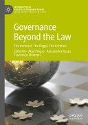 Pdf Governance Beyond the Law Telecharger