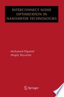 Interconnect Noise Optimization in Nanometer Technologies