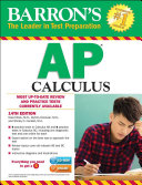Barron's AP Calculus with CD-ROM