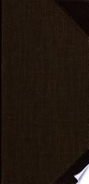 Journal des États Généraux, ou Journal logographique. Table générale des matières rapportées dans la collection des trente-cinq volumes, contenant les travaux de l'Assemblée Nationale Constituante