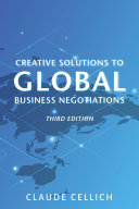 Creative Solutions to Global Business Negotiations, Third Edition Pdf/ePub eBook