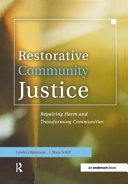 Restorative Community Justice