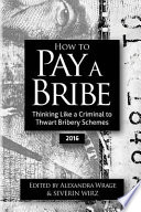 How to Pay a Bribe