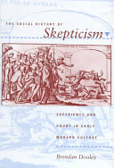 The Social History of Skepticism