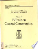 Environmental Planning For Offshore Oil And Gas