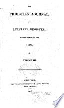 The Christian Journal, and Literary Register