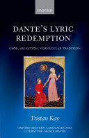 Pdf Dante's Lyric Redemption