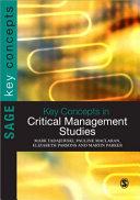 Key Concepts in Critical Management Studies