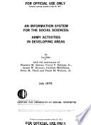 An Information System for the Social Sciences